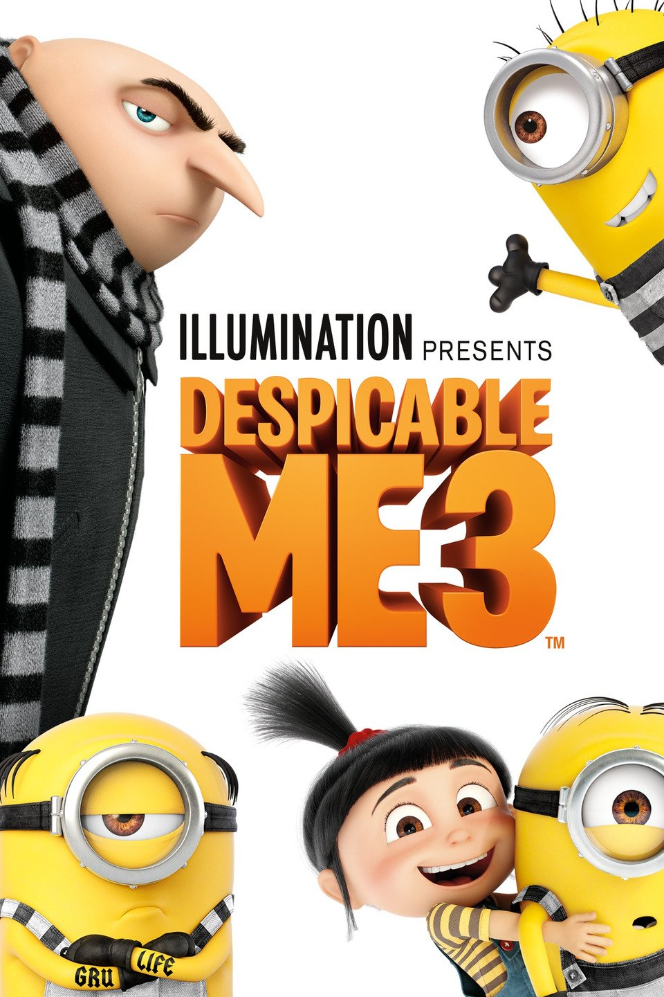 Despicable Me 3 poster art