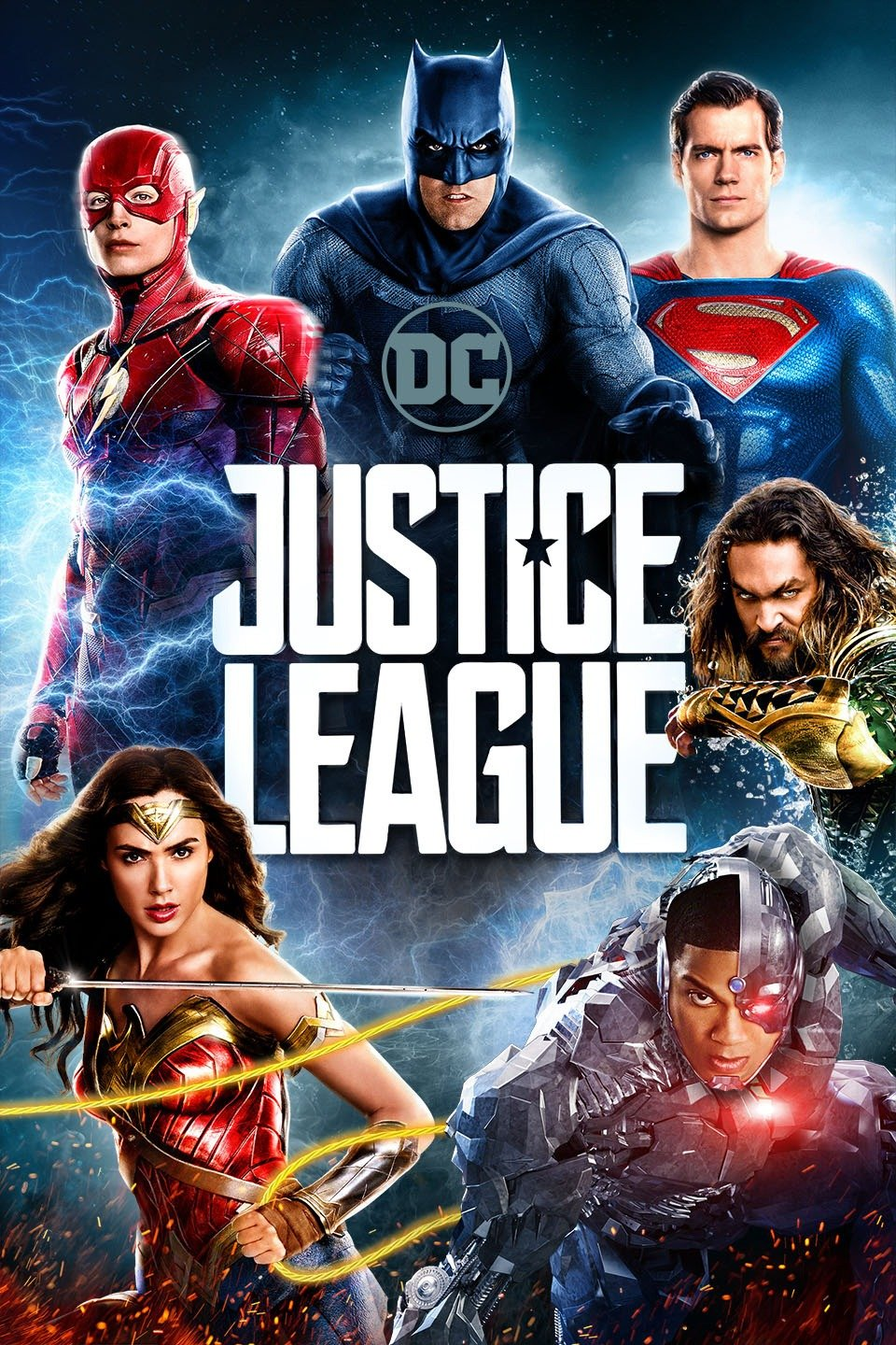 Justice League poster art