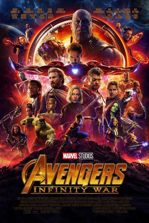 Avengers: Infinity War poster art