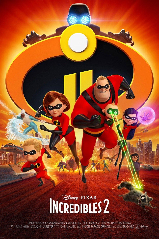 Incredibles 2 poster art