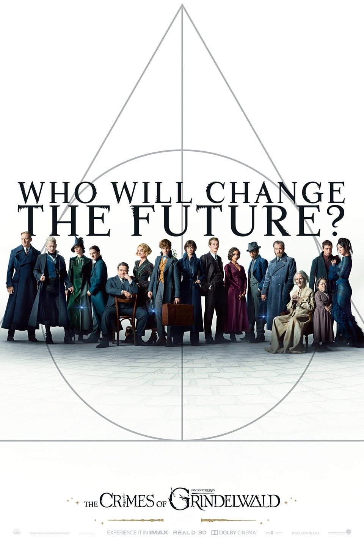 Fantastic Beasts: The Crimes of Grindelwald poster art