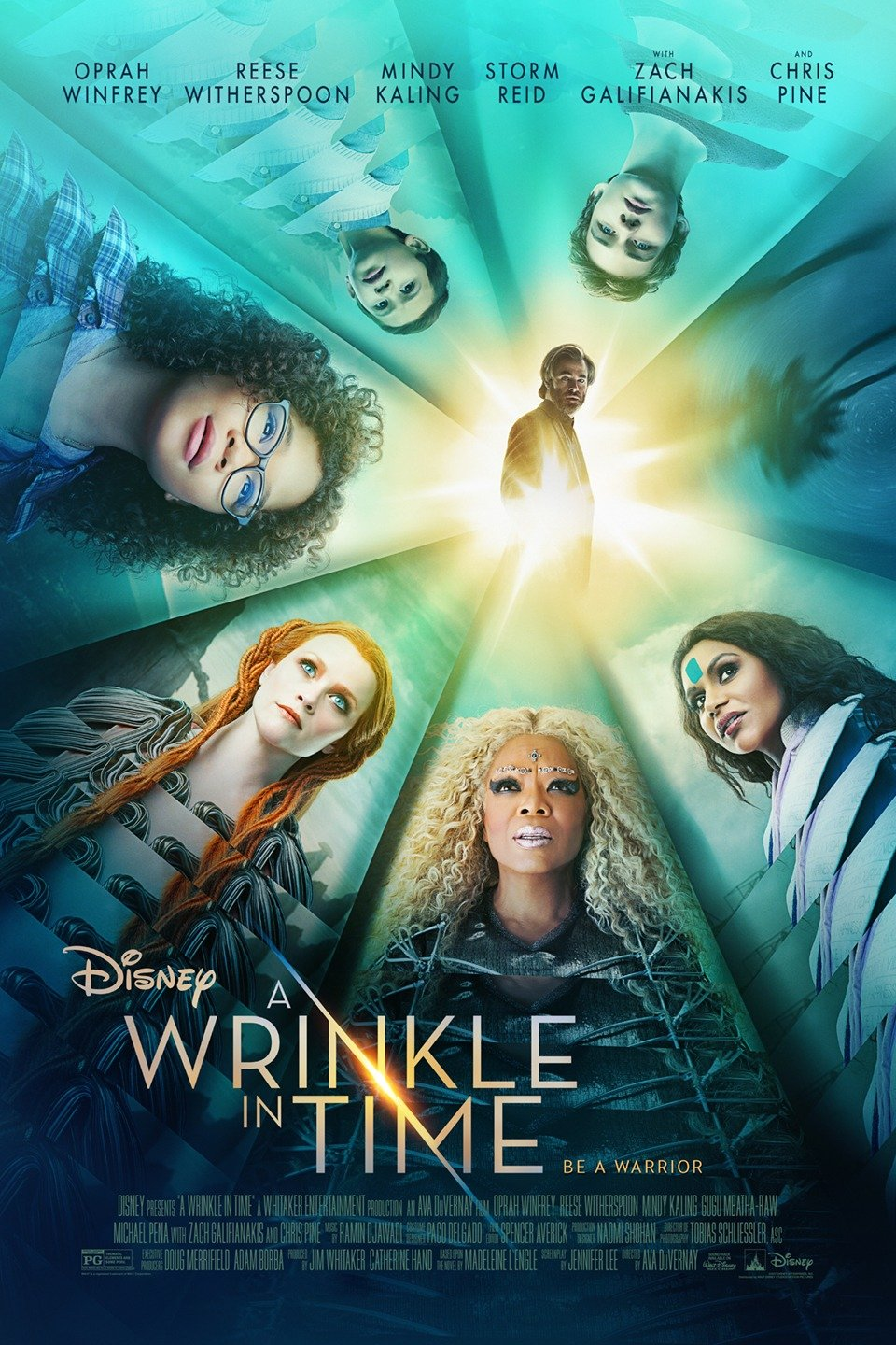 A Wrinkle in Time poster art