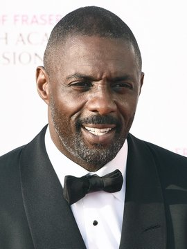 portrait of Idris Elba