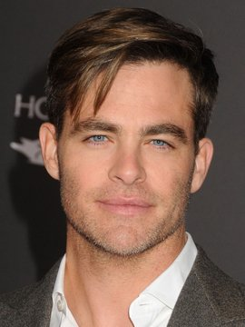 portrait of Chris Pine
