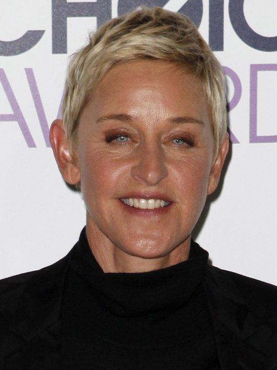 portrait of Ellen DeGeneres