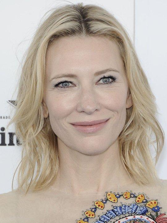 portrait of Cate Blanchett