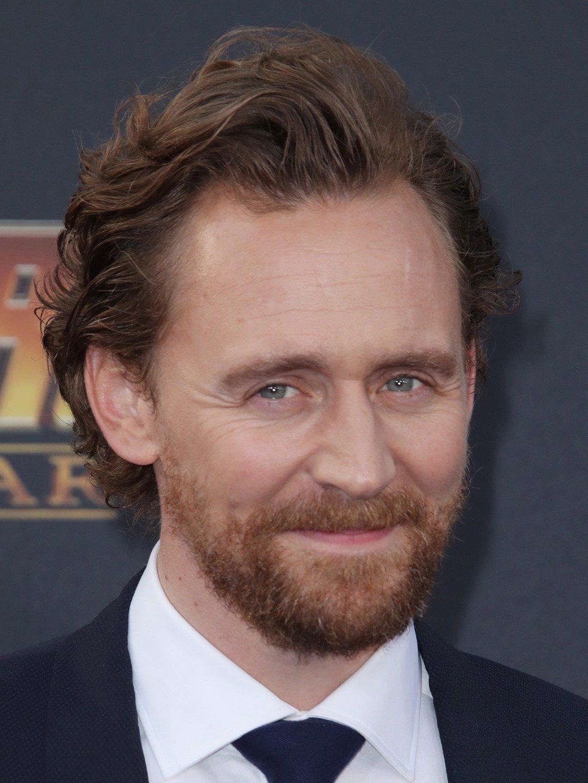 portrait of Tom Hiddleston