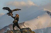 La cazadora de águilas