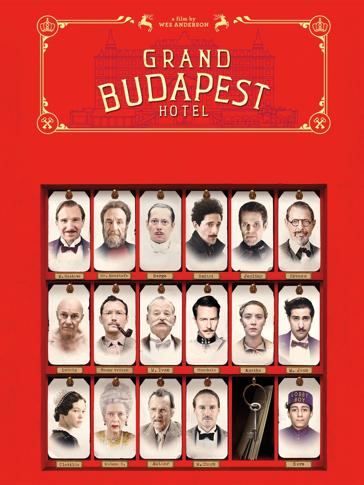 The Grand Budapest Hotel 2014 Rotten Tomatoes