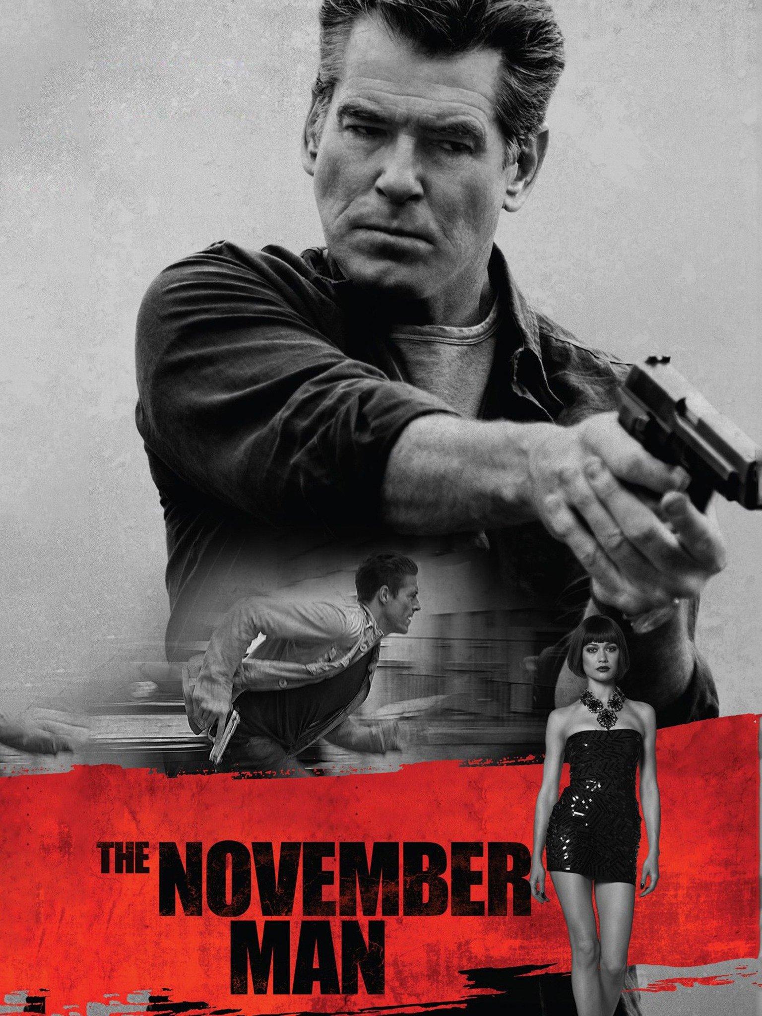 Poster film The November Man.