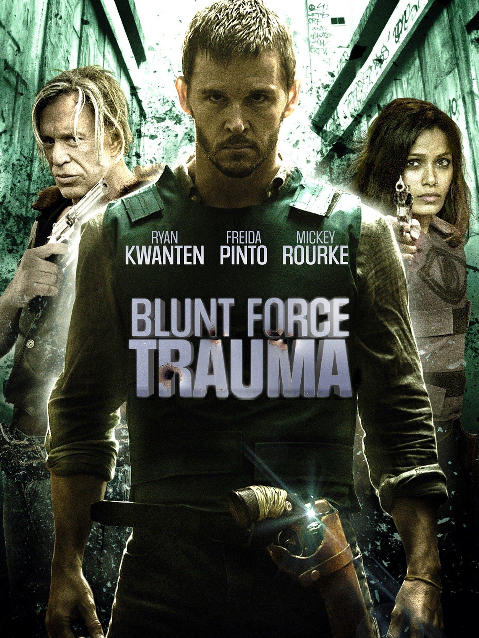 Poster film Blunt Force Trauma.