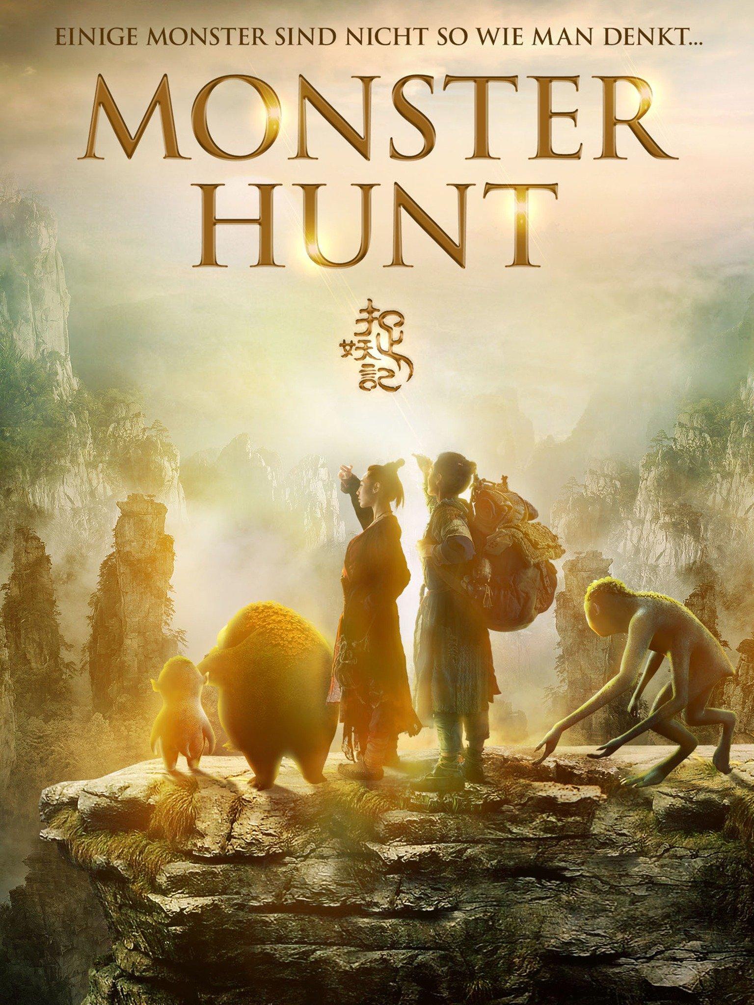 Monster Hunt (2015) ORG Hindi Dual Audio 300MB BluRay 480p ESubs Free Download