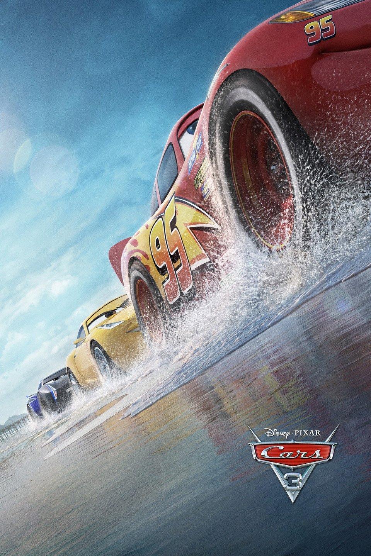 Cars 3 poster art