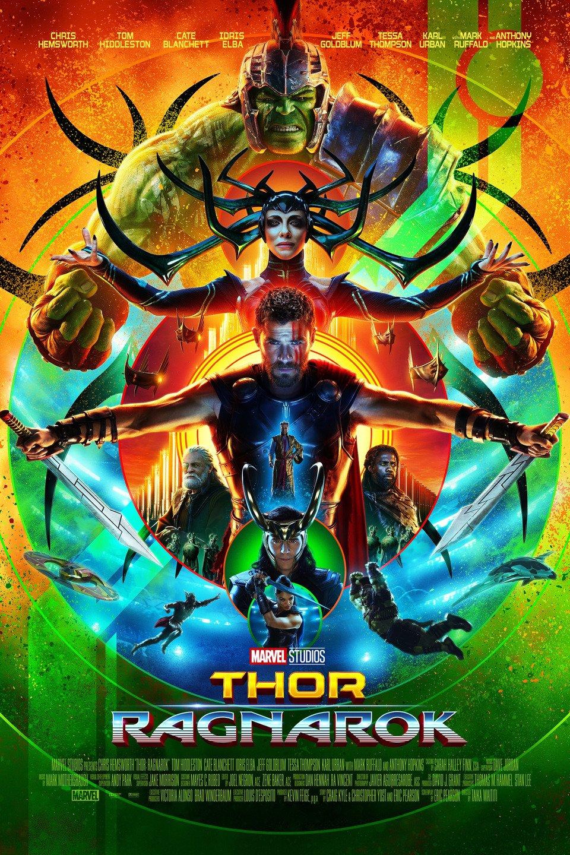 Thor: Ragnarok poster art
