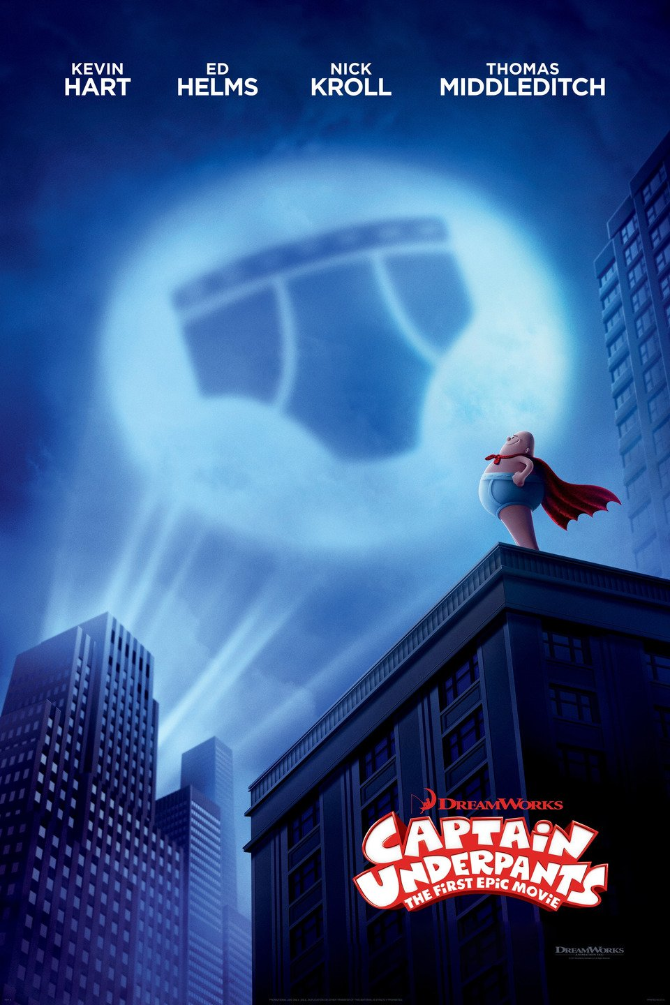 Captain Underpants: The First Epic Movie poster art