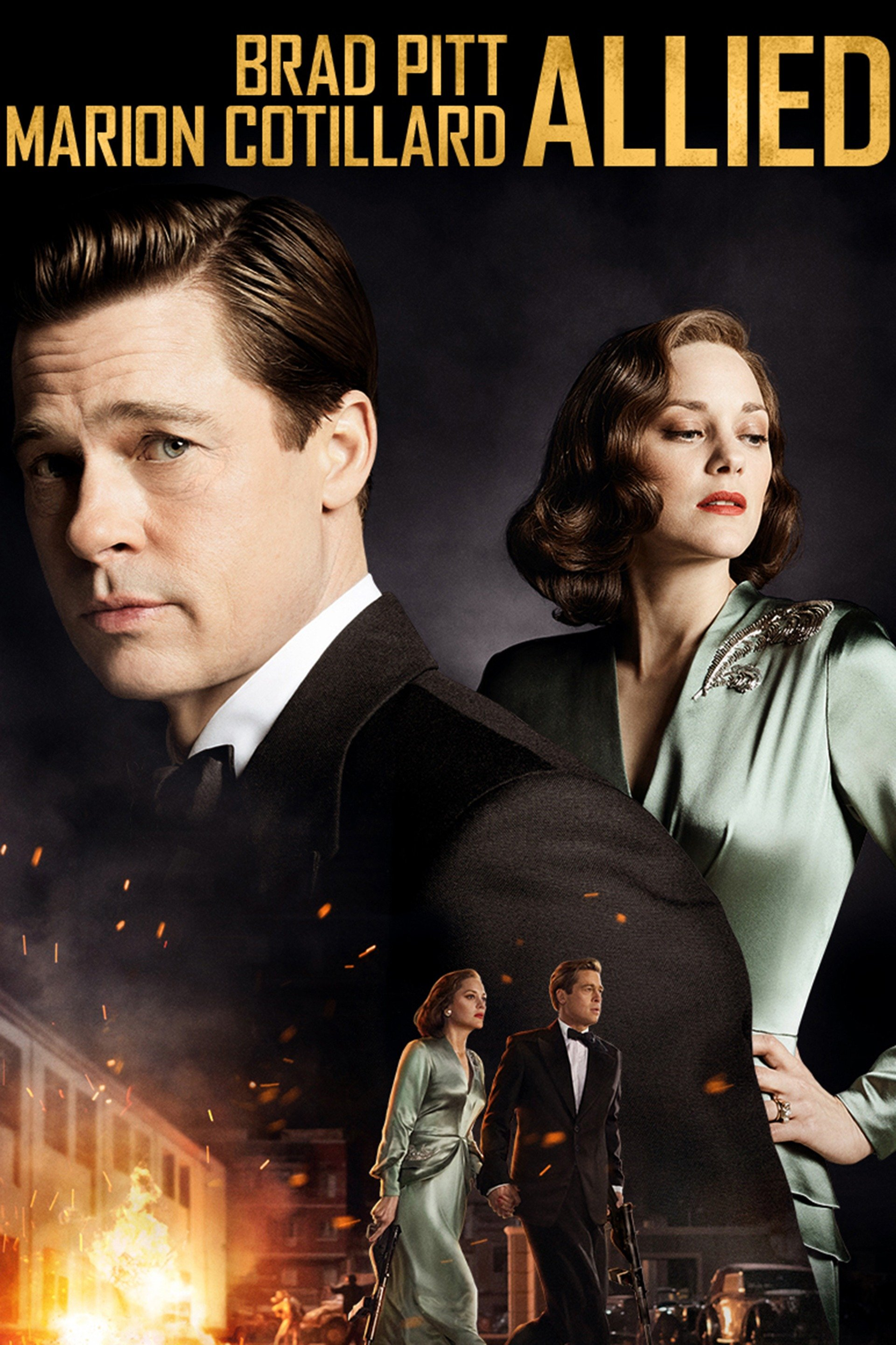 Poster film Allied.
