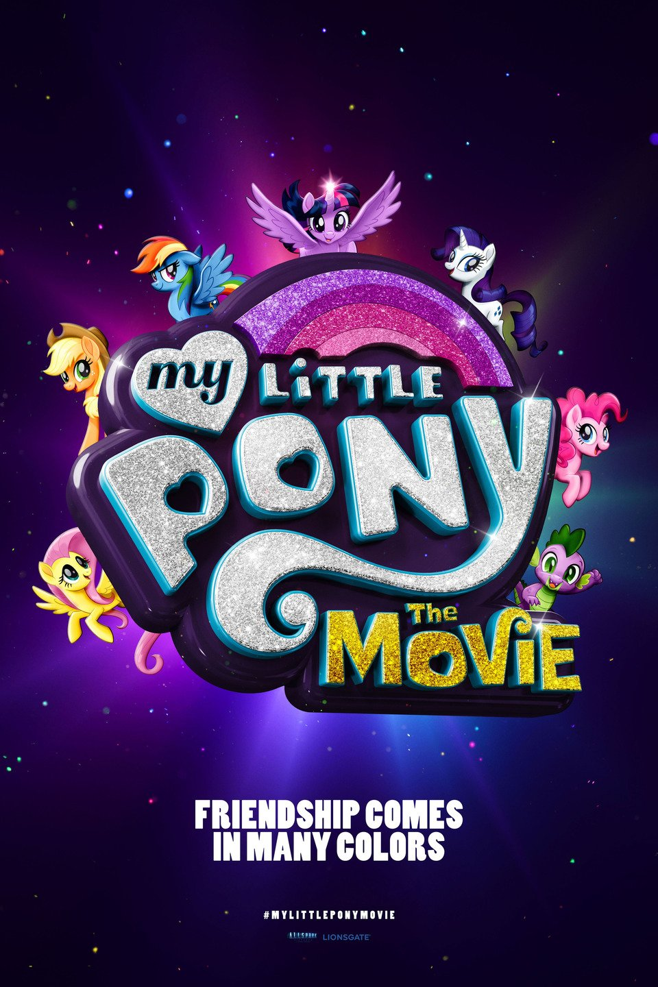 My Little Pony: The Movie poster art