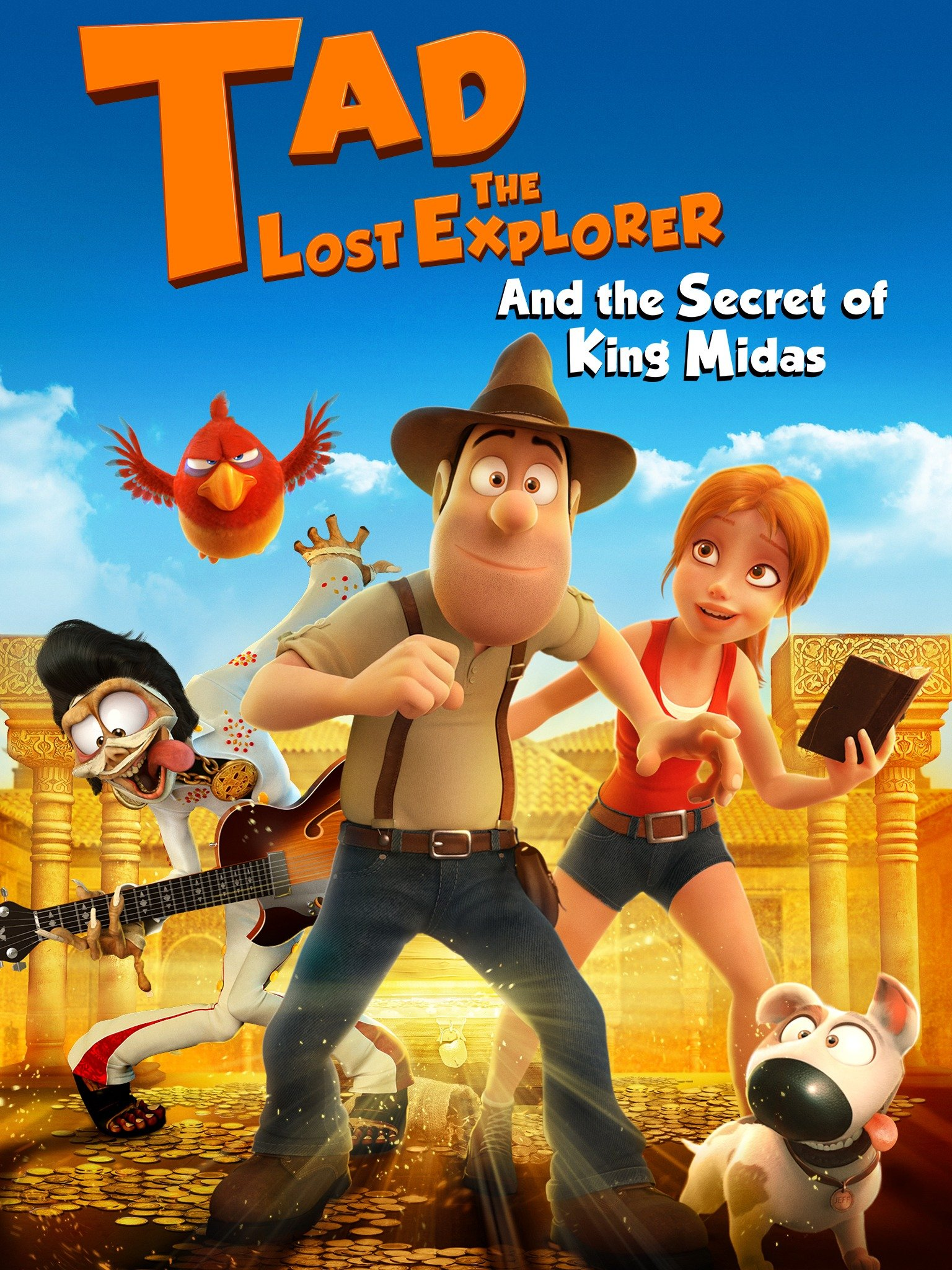 Tad the Lost Explorer and the Secret of King Midas (Tadeo Jones 2: El secreto del Rey Midas)