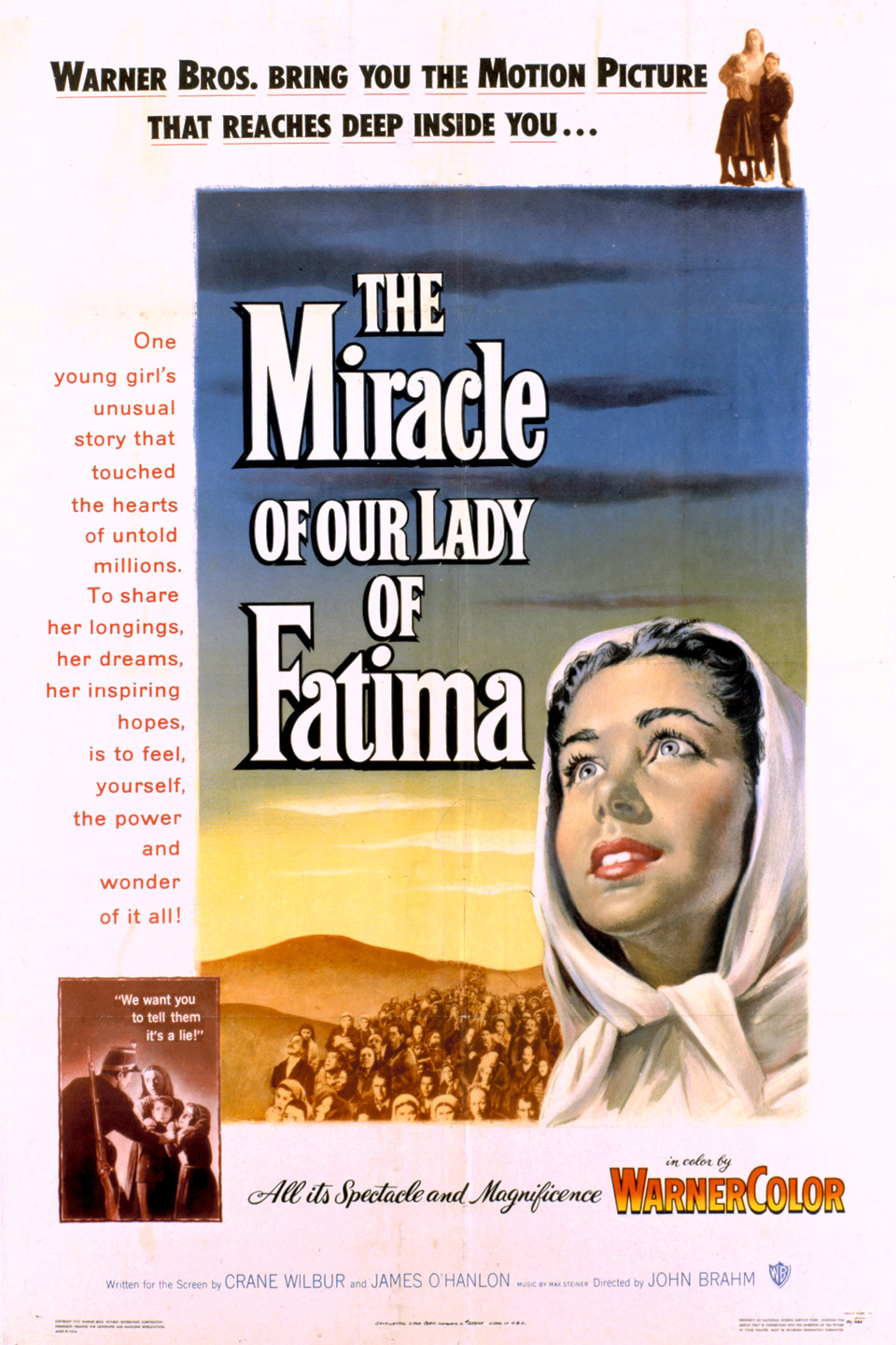 The Miracle Of Our Lady Of Fatima 1952 Rotten Tomatoes