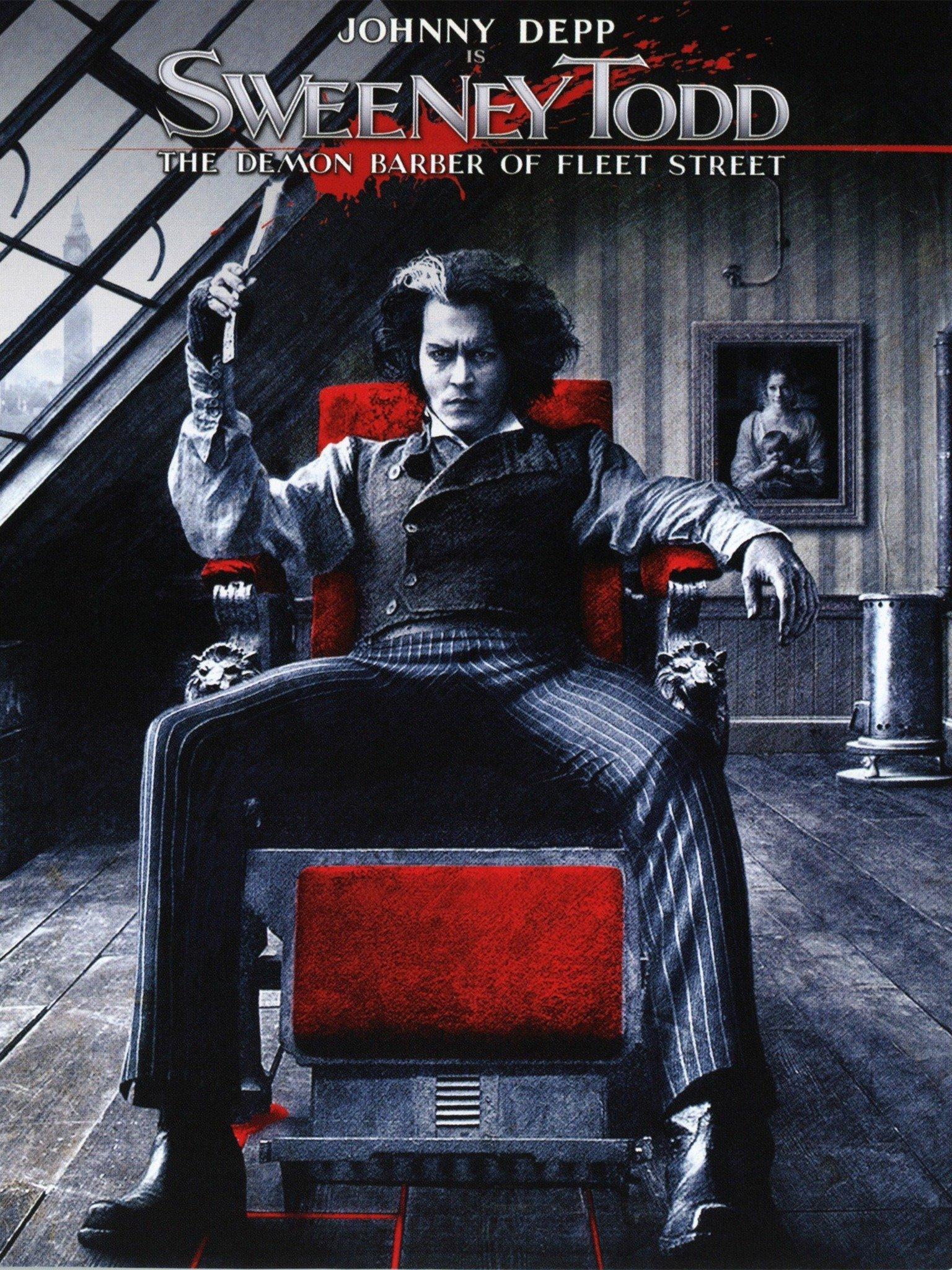 Sweeney Todd The Demon Barber Of Fleet Street 2007 Rotten Tomatoes