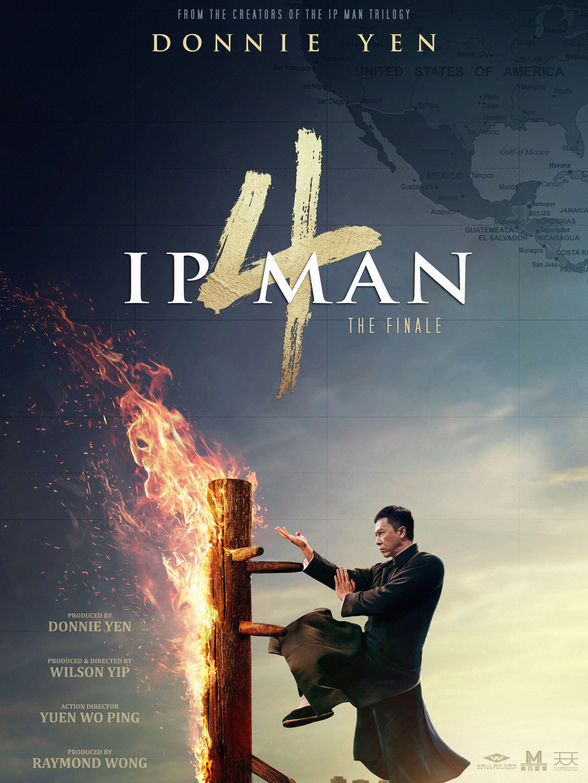 Ip Man 4 movie poster
