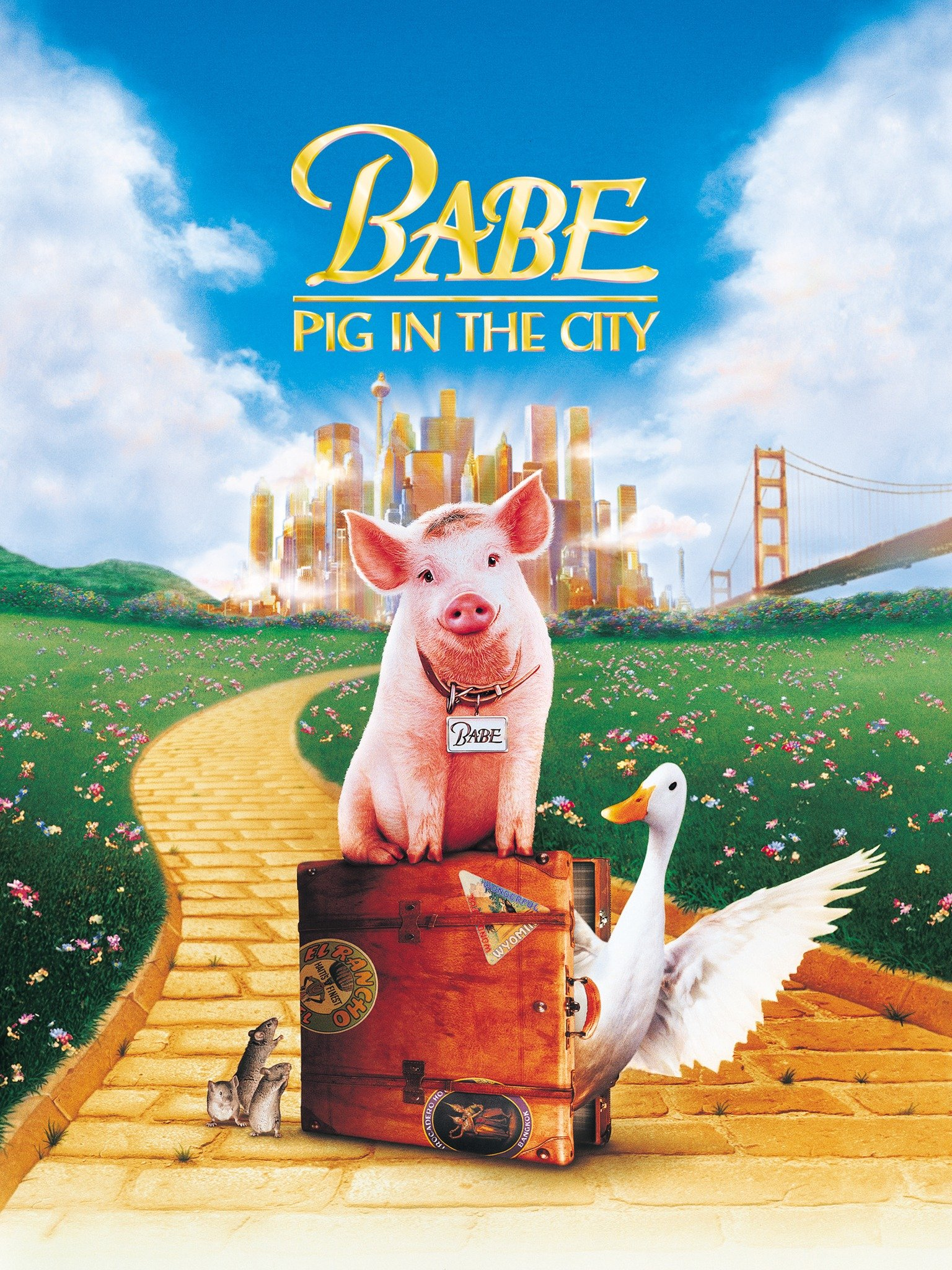 Babe: Pig in the City (1998) - Rotten Tomatoes