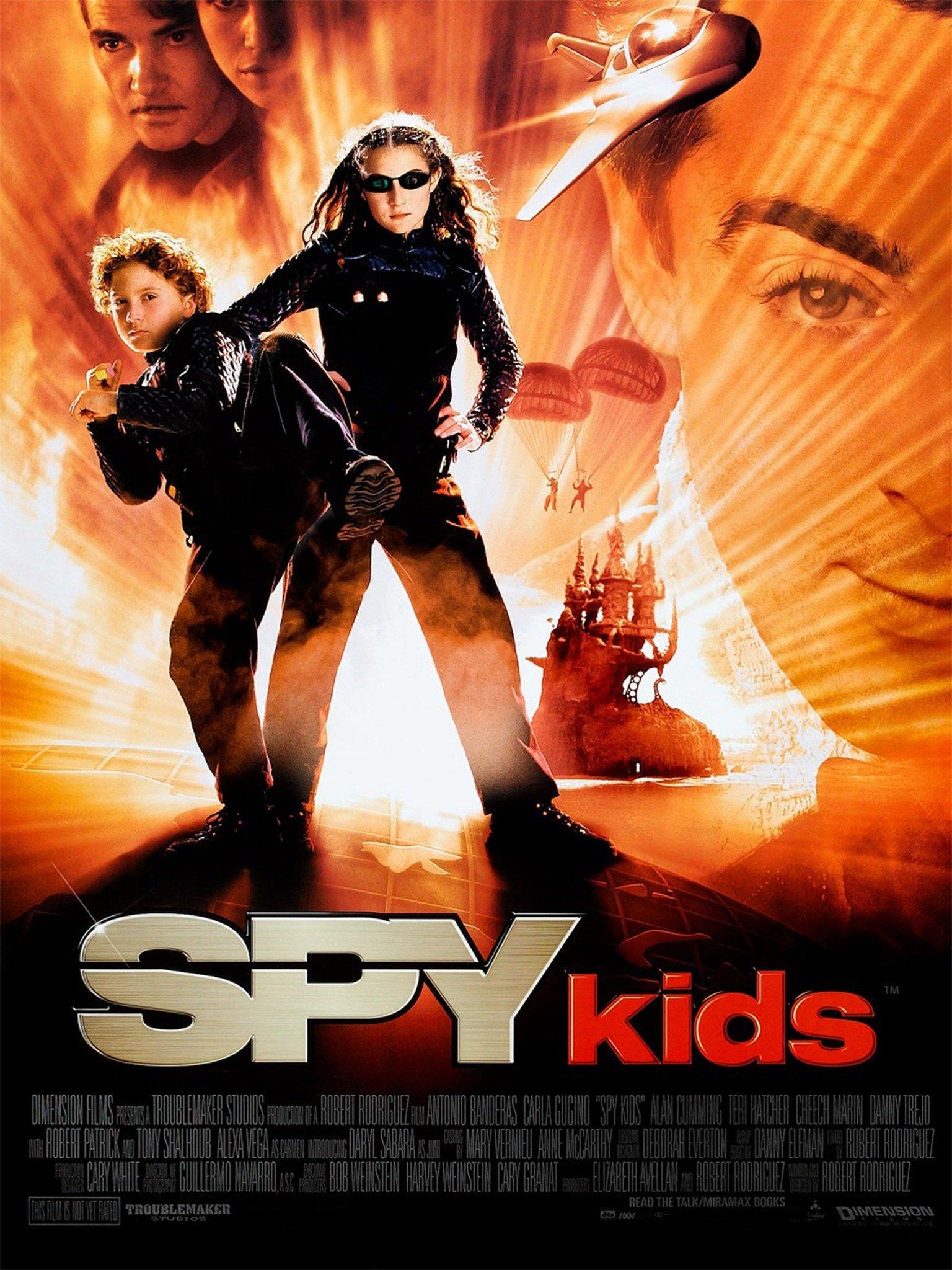 Spy Kids (2001) - Rotten Tomatoes