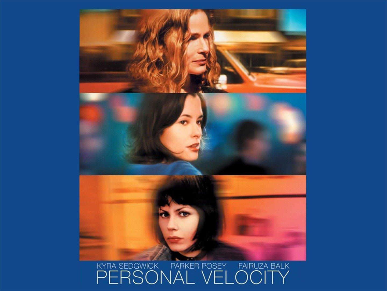 Personal Velocity: Three Portraits