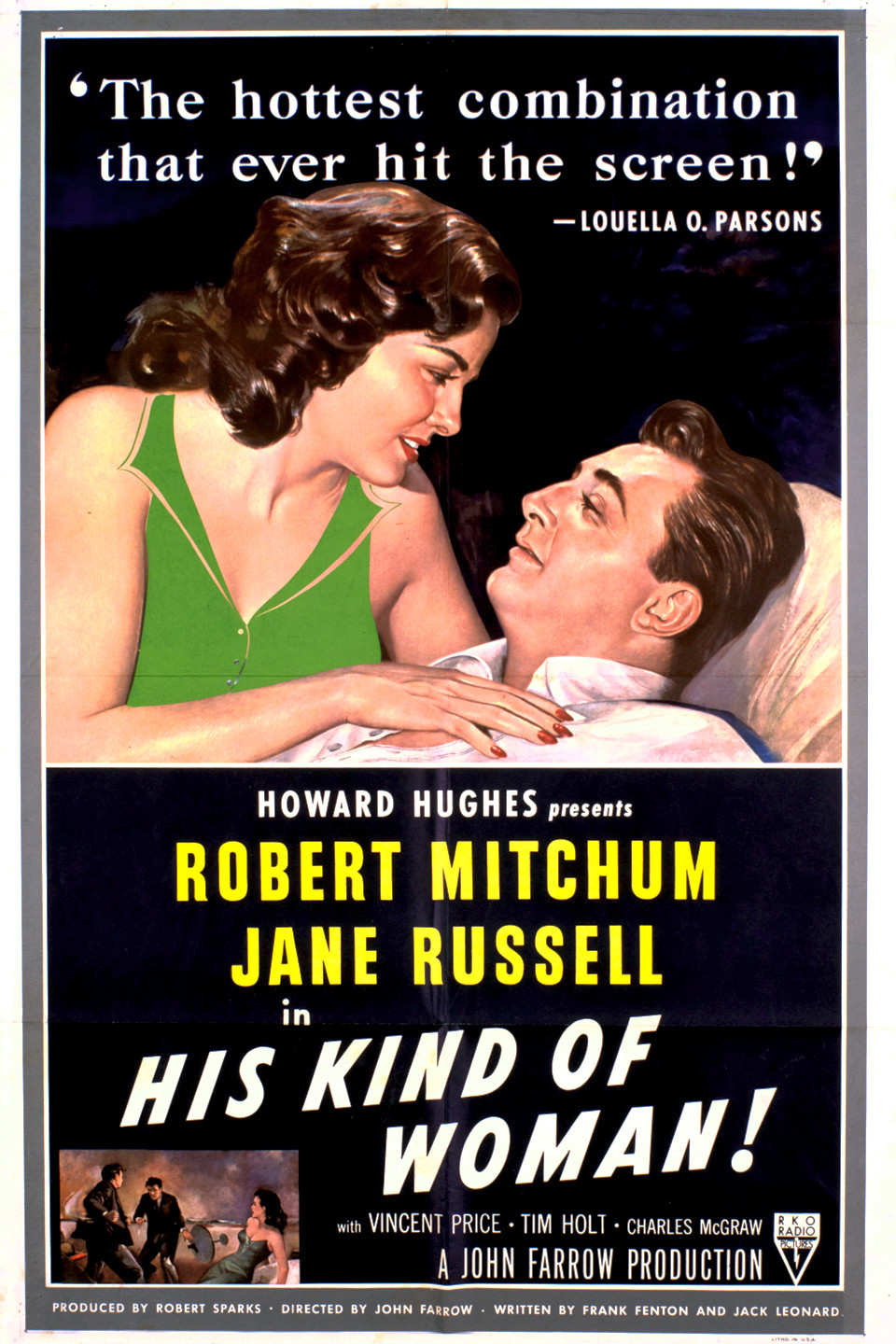 His Kind of Woman (1951) - Rotten Tomatoes