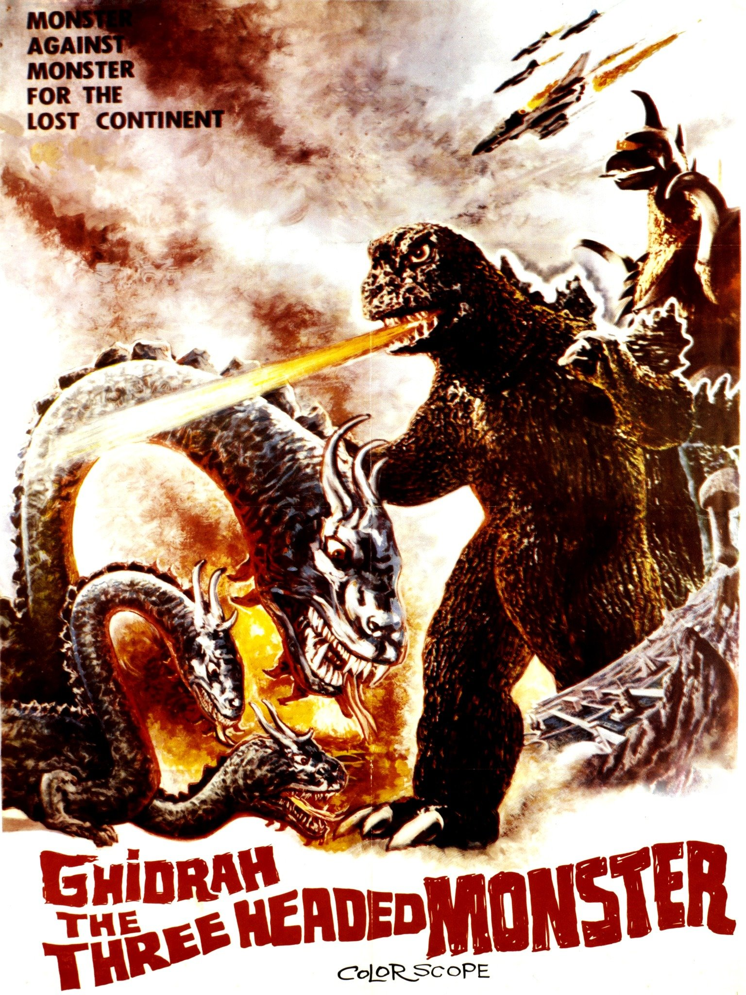 Ghidorah, the Three-Headed Monster (San daikaijû: Chikyû saidai no kessen)