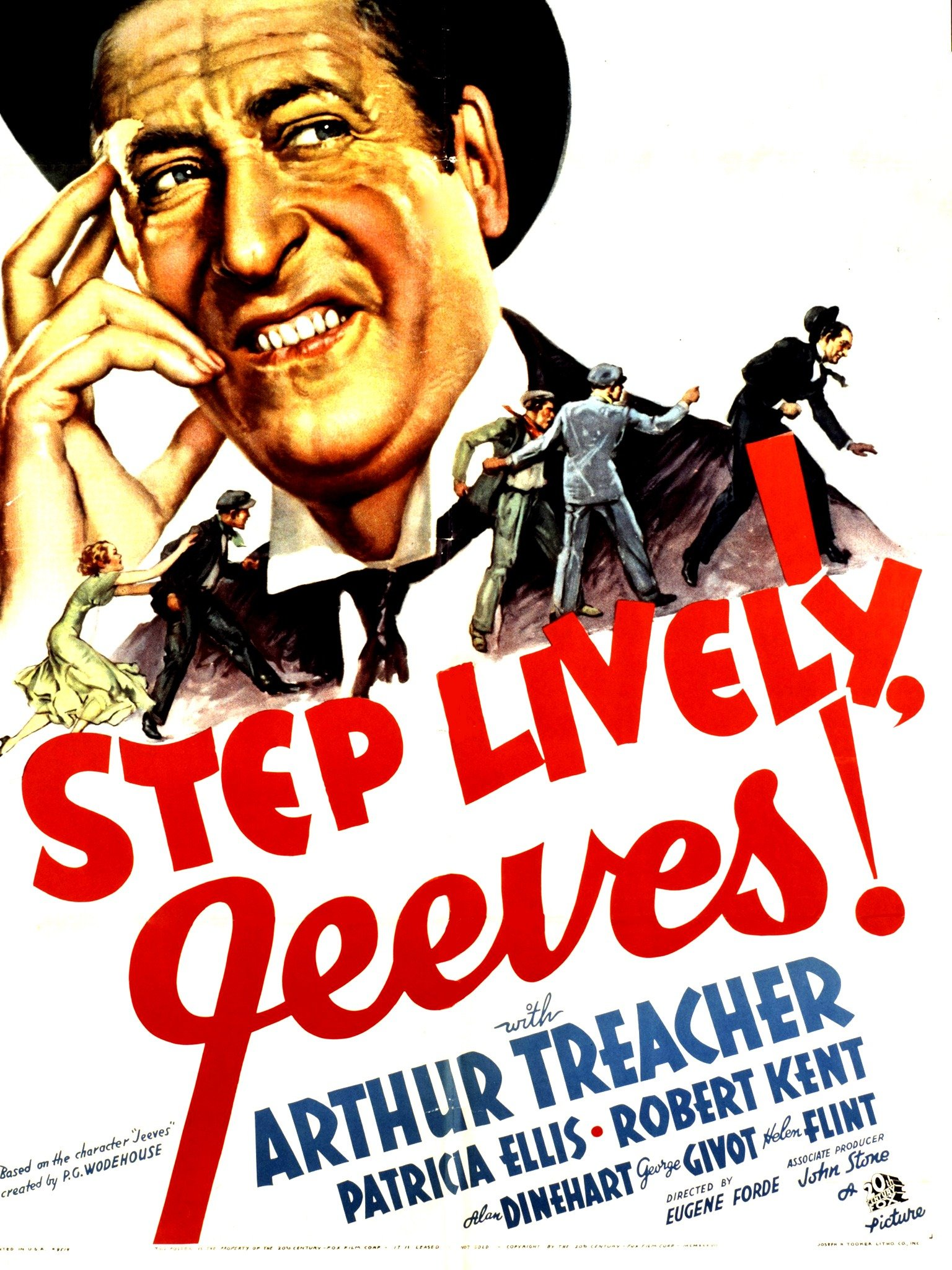 Step Lively, Jeeves