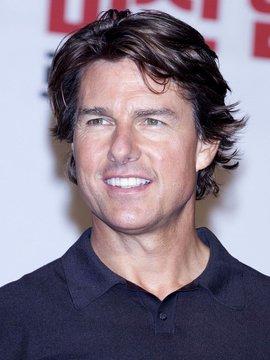 portrait of Tom Cruise