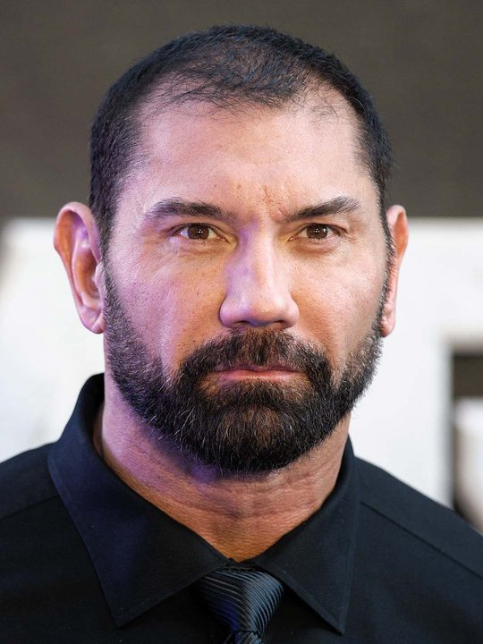 portrait of Dave Bautista
