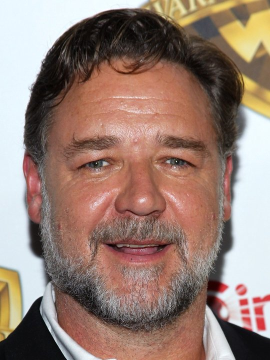 portrait of Russell Crowe