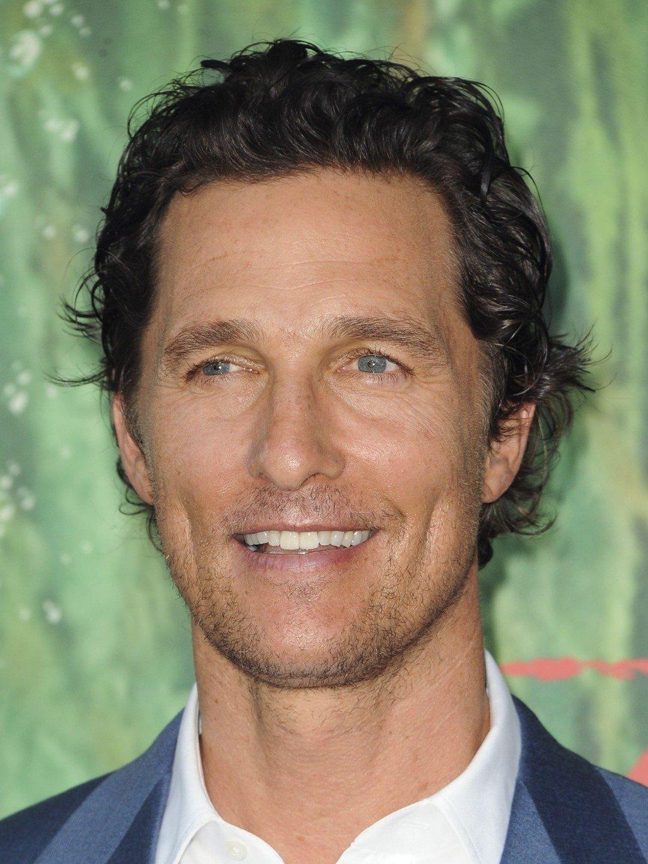 portrait of Matthew McConaughey