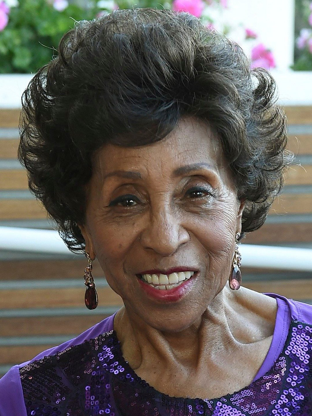 Marla Gibbs character on the jeffersons